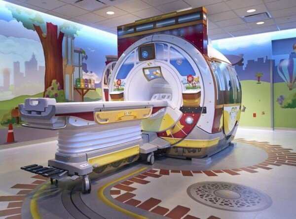 MRT-Design im Children's Hospital of Pittsburgh